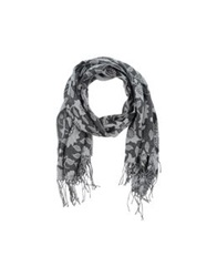 Hamaki Ho Oblong Scarves Grey