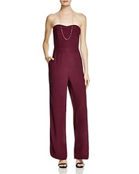 Twelfth St. By Cynthia Vincent Twelfth Street By Cynthia Vincent Strapless Side Slit Jumpsuit