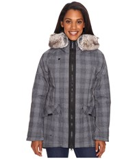 Obermeyer Alexa Parka Plaid Heather Women's Coat Gray