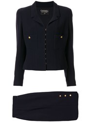 Chanel Pre Owned 1996 Setup Skirt Suit 60