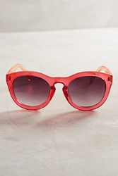 Anthropologie Veronica Sunglasses Red