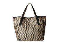 Toms Straw Tote Black Tote Handbags