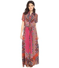 Tolani Amanda Maxi Dress Fuchsia Women's Dress Pink
