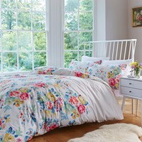Cath Kidston Regal Rose Duvet Cover Red