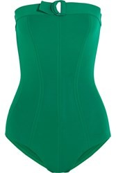 Eres Petula Tracy Bandeau Swimsuit Forest Green