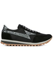 Marc Jacobs Glitter Detail Sneakers Black