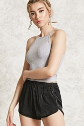 Forever 21 Satin Woven Dolphin Shorts