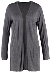 More And More Cardigan Dark Steel Anthracite
