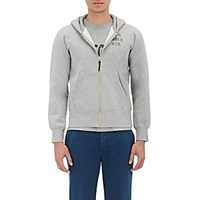 Visvim Men's Force Zip Front Hoodie Dark Grey