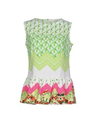 Anonyme Designers Topwear Tops Women Acid Green