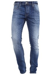 Jack And Jones Jjiglenn Jjoriginal Slim Fit Jeans Blue Denim