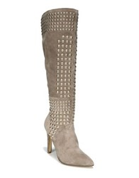 Fergie Danica Suede Tall Boots Taupe