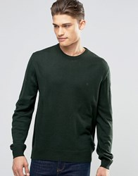 French Connection Crew Jumper Green