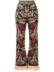 Alice Mccall Shadow On The Sun Flared Trousers 60
