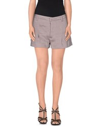 Albino Trousers Shorts Women Dove Grey
