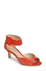 Pelle Moda Women's Berlin D'orsay Pump Flame Leather