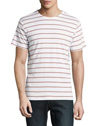 Selected Striped Tee Bright White