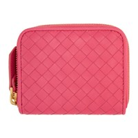 Bottega Veneta Pink Mini Coin Purse
