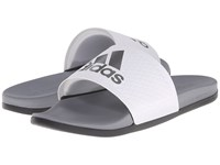 Adidas Adilette Supercloud Plus White Iron Metallic Vista Grey Men's Sandals