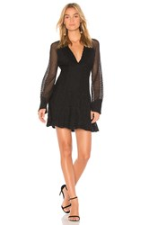 Ella Moss Lace Shift Dress Black