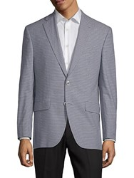 Jack Victor Conway Micro Check Jacket Taupe