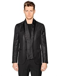 Z Zegna Chintz Wool Evening Jacket