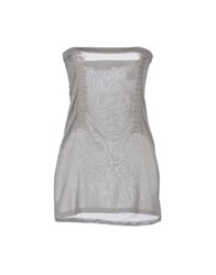 See By Chloe See By Chloe Tube Tops Grey