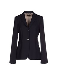 Strenesse Gabriele Strehle Suits And Jackets Blazers Women Dark Blue
