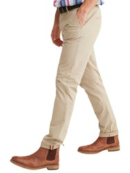 Joules Cobblestone Laundered Chino Trousers Natural