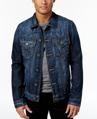 True Religion Men's Jimmy Denim Jacket Blue