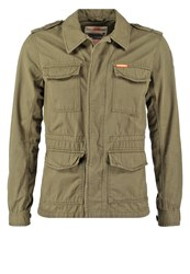 Superdry Rookie Summer Jacket Deepest Army Oliv