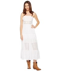 Scully Cantina Party Time Tube Dress White Women's Dress