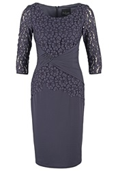 Mascara Cocktail Dress Party Dress Charcoal Dark Gray