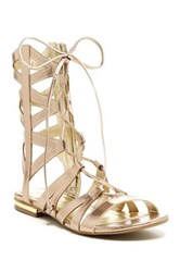 Rampage Davina Gladiator Sandals Metallic