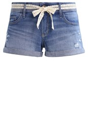 Hollister Co. Denim Shorts Medium Dark Blue Denim