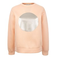 Etre Cecile Circle Boyfriend Sweat In Pink