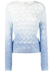 L'autre Chose Perforated Fitted Jumper 60