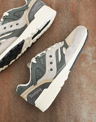 Saucony Grid Sd Quilted Trainers Grey