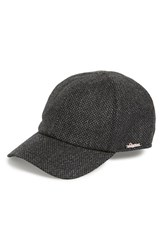 Men's Wigens Bird's Eye Tweed Wool Ball Cap