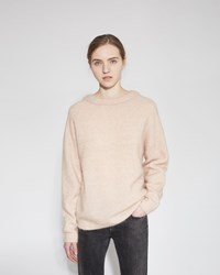 Acne Studios Dramatic Mohair Pullover Pink Melange