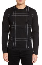 Hugo Men's Boss Ontonio Check Sweater