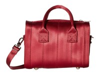 Harveys Seatbelt Bag Mini Marilyn Satchel Maroon Satchel Handbags Red
