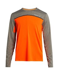 Peak Performance Rucker Long Sleeved Top Orange Multi