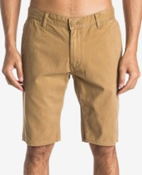 Quiksilver Men's Everyday Chino Shorts Brown