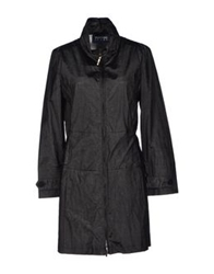 Emporio Armani Full Length Jackets Black