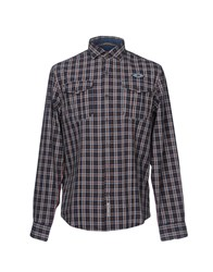 Napapijri Shirts Dark Blue