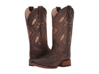 Corral Boots L5291 Chocolate Cowboy Brown