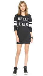 Zoe Karssen Belle Heir Sweatshirt Dress Pirate Black