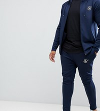 Sik Silk Siksilk Joggers In Navy Exclusive To Asos