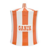 Jonathan Adler Vice Canister Ganja Orange White